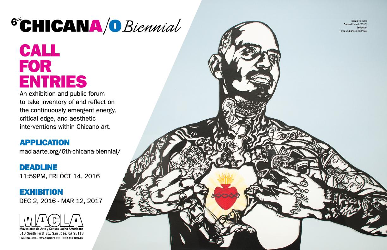 Chicana/o Biennial Call for Entries