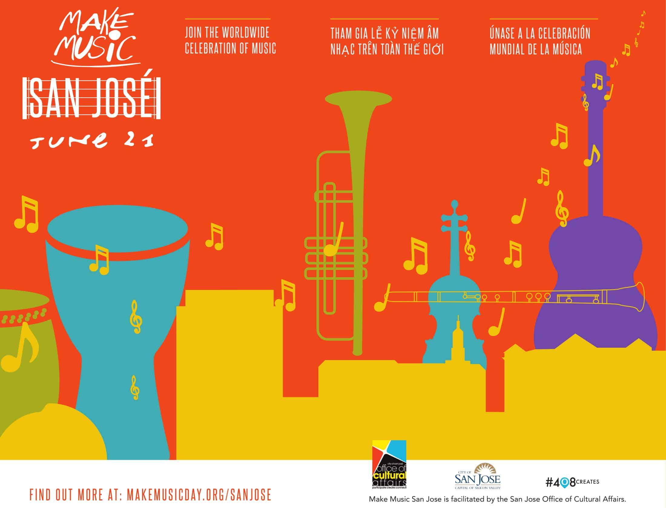 Make Music Day San José