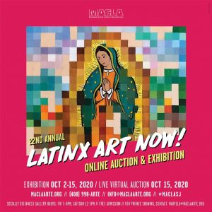 Latinx Art Now Auction October 15th 2020